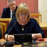 Pozytywną opinię o projekcie budżetu powiatu na 2020 rok, w imieniu Komisji Skarg, Wniosków i Petycji, wyraziła jej przewodnicząca Anna Kosowicz.