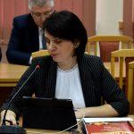 Pozytywną opinię o projekcie budżetu powiatu na 2020 rok, w imieniu Komisji Rewizyjnej, wyraziła jej przewodnicząca Anna Niziałek.