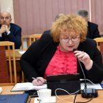 Pozytywną opinię o projekcie budżetu powiatu na 2020 rok, w imieniu Komisji Infrastruktury, Rolnictwa i Promocji Powiatu, wyraził jej przewodniczący Zbigniew Bąk.Pozytywną opinię o projekcie budżetu powiatu na 2020 rok, w imieniu Komisji Infrastruktury, Rolnictwa i Promocji Powiatu, wyraził jej przewodniczący Zbigniew Bąk.